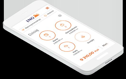 Moje ING Mobile - aplikacja ING Banku Śląskiego