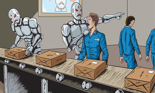 Źródło: heiscomingblog.wordpress.com. Czy roboty pozbawią ludzi miejsc pracy?