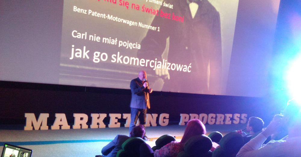 """Źródło: fintek.pl. Legenda polskiego marketingu - Jacek Kotarbiński opowiada o początkach """"wozu bez koni""""."""