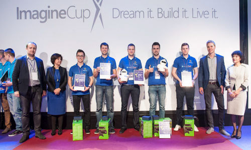 Źródło: blogs.msdn.microsoft.com. Photon Enterprises. Laureaci konkursu Imagine Cup 2015.