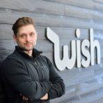 Peter Szulczewski, CEO WIsh, źródło: LinkedIn