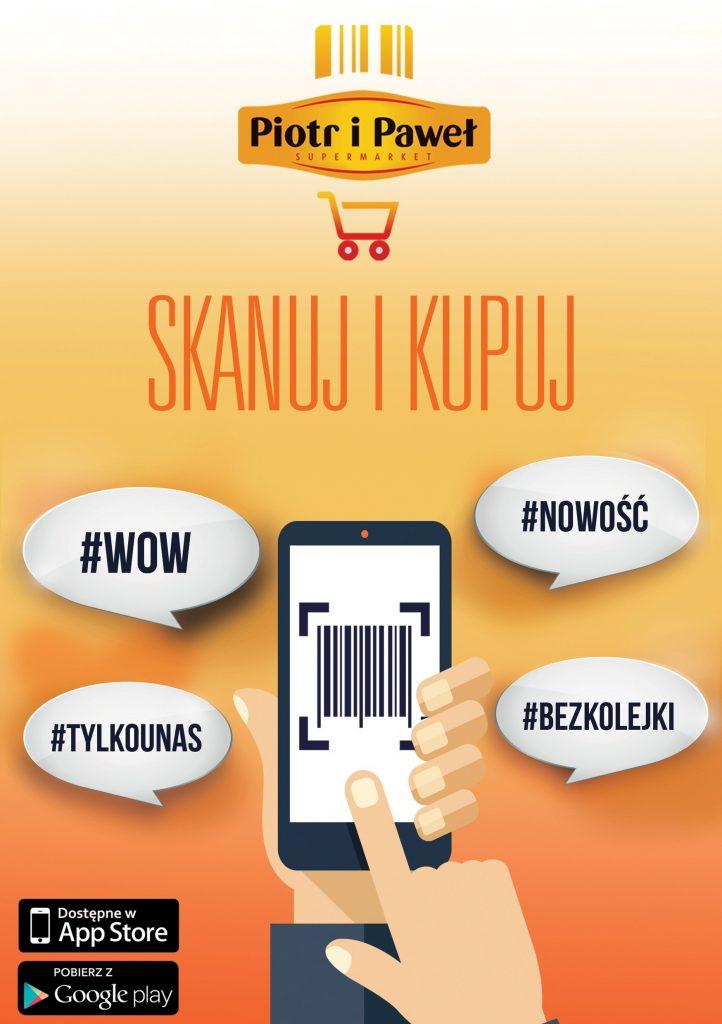 """Aplikacja Piotra i Pawła """"Skanuj i Kupuj"""" to FinTechowe BINGO!"""