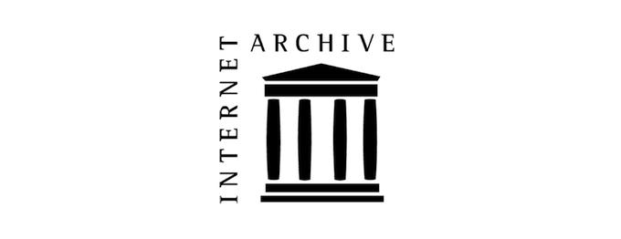 Źródło: wikipedia.org. Logo Internet Archive.