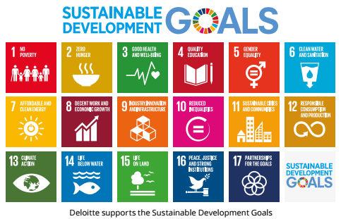 Deloitte wspiera Cele Zrównoważonego Rozwoju ONZ