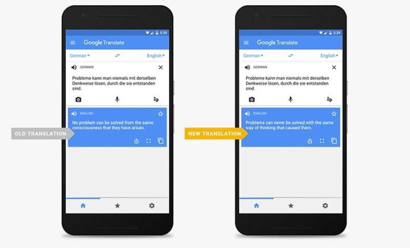 Google Translator wreszcie przestanie wykonywać tłumaczenia wywołujące salwę śmiechu. Wszystko dzięki machine learning.