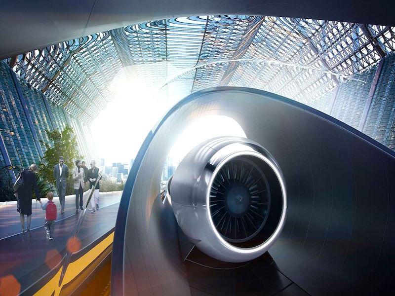 Hyperloop będzie też w Chicago