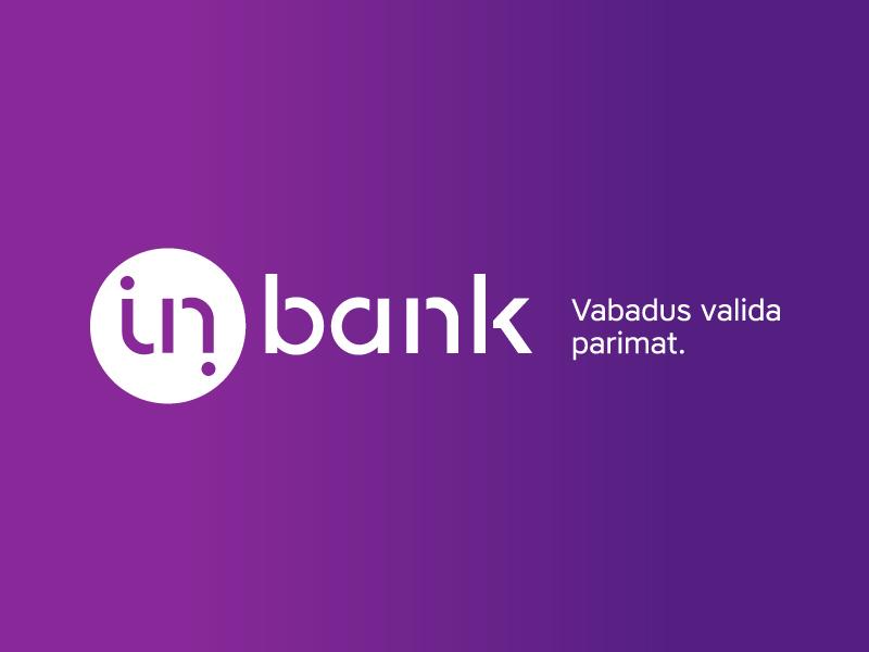 Logo estońskiego Inbanku, który stara się wejść na polski rynek. KNF stawia warunki.