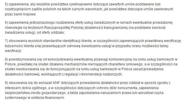 Wytyczne KNF-u dla estońskiego Inbanku. Instytucja musi je spełnić, jeżeli chce wejść do Polski.