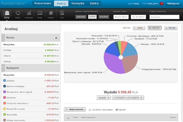 Kontomierz.pl pomoże Wam w zarządzaniu finansami i zwiekszy Wasze oszczędności.