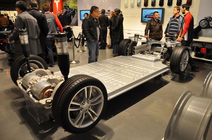 Baterie litowo-jonowe napędzają modele Tesli