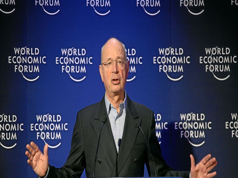 Klaus Schwab - inicjator Światowego Forum Ekonomicznego.