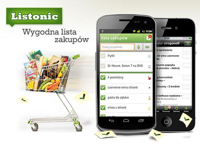 Listonic to aplikacja, która pomoże nam zaoszczędzić na zakupach.