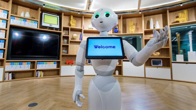 W londyńskim centrum innowacji od Visy nie zabraknie miejsca na nowinki technologiczne, w tym roboty.