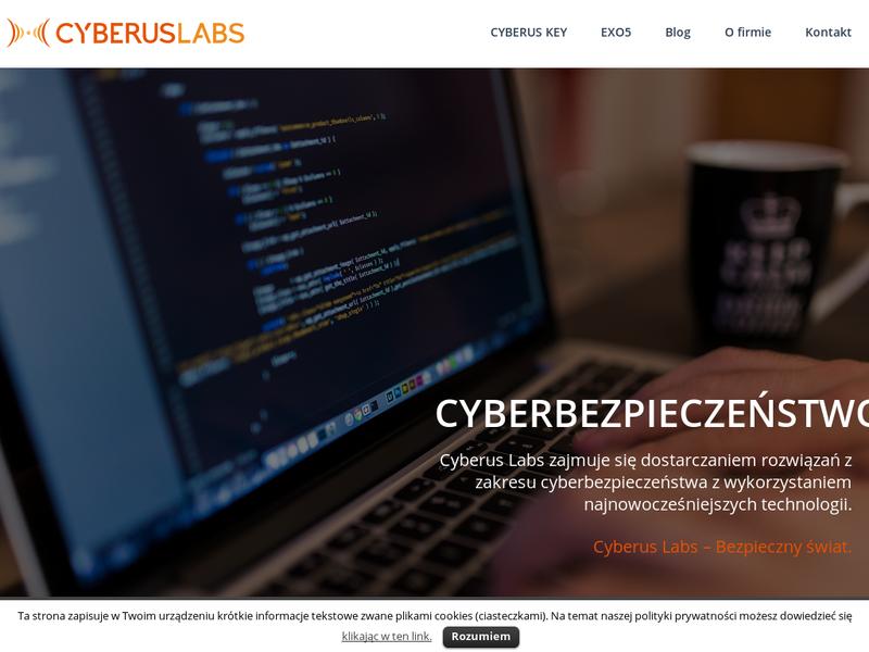 Dzięki Cyberus Labs nie będziemy musieli zapamiętywać skomplikowanych haseł.