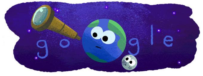 Google Doodle świętuje odkrycie nowego układu.