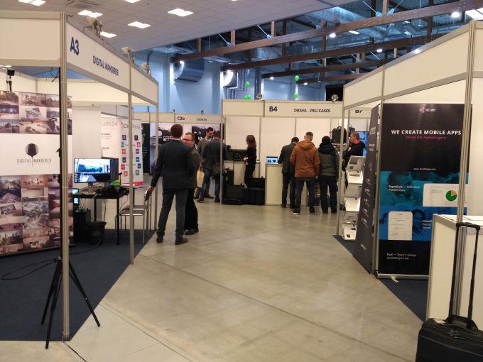 Na targach Mobile IT w Krakowie znalazło się dużo przedstawicieli startupów.