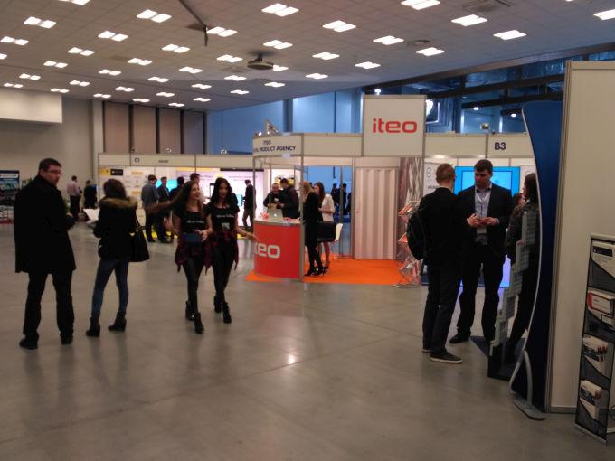 Targi Mobile IT w Krakowie przyciągnęły dużo gości.