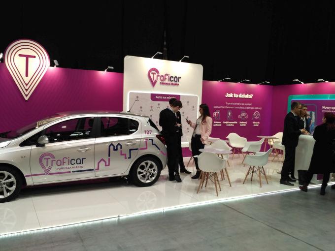 TrafiCar to carsharing działajacy na terenie Krakowa.