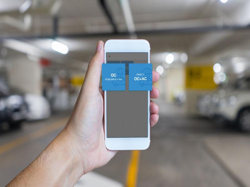 Dzięki aplikacji SkyCash będzie można nabyć ubezpieczenie OC i AC.