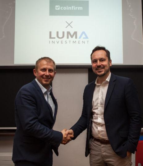 Coinfirm i Luma Investments rozpoczynają współpracę.