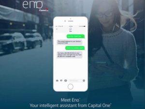 Eno - twój inteligentny asystent od Capital One.