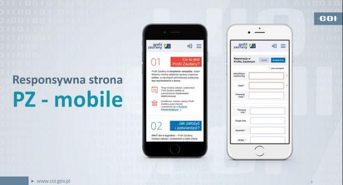 PZ mobile smartfon