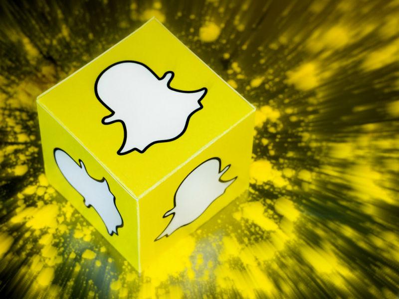 Snapchat spada w przepaść.