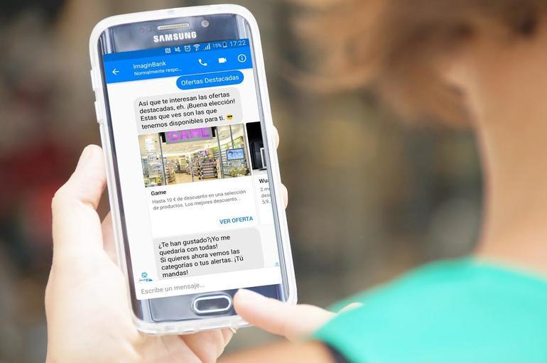 Chatbot hiszpańskiego imaginBanku