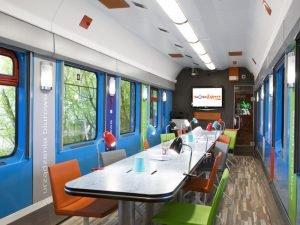 Idea Hub Express - oddział na torach.