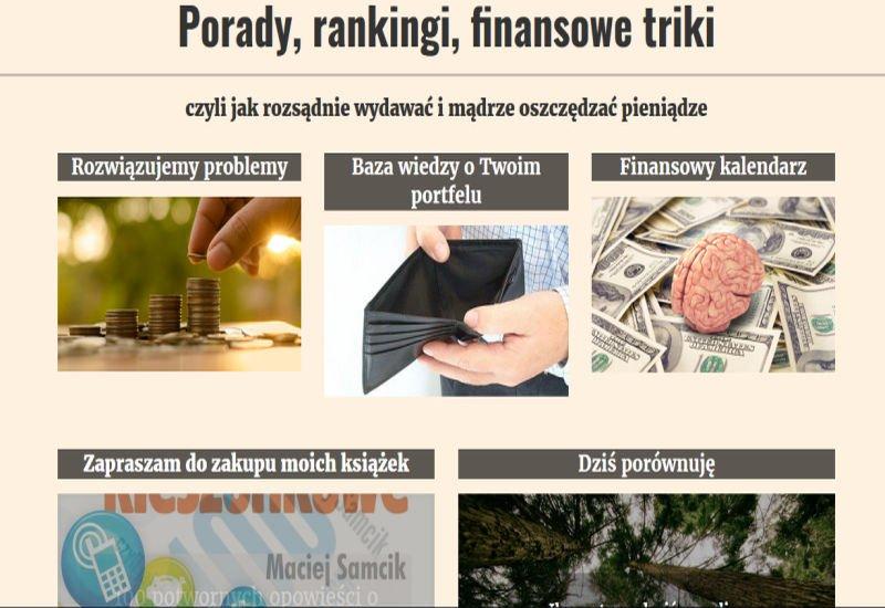 Maciej Samcik rebranding