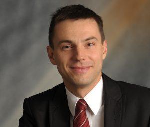 Adrian Kurowski - dyrektor generalny Visa w Polsce.