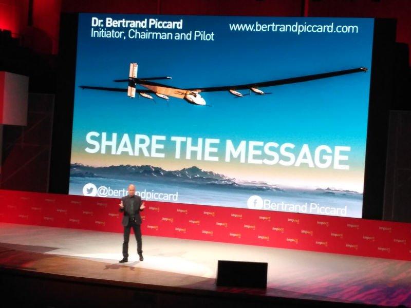 Bertrand Piccard - impact'17 Kraków.