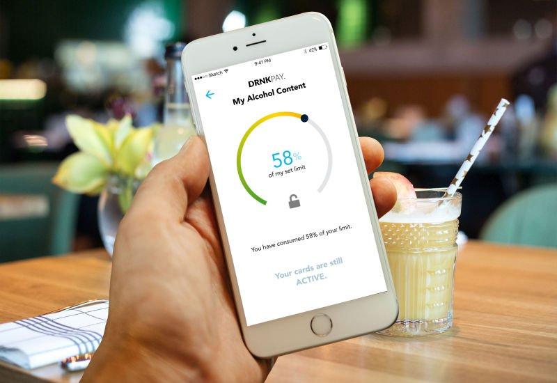 DrnkPay - aplikacja, która pomaga kontrolować wydatki po alkoholu.