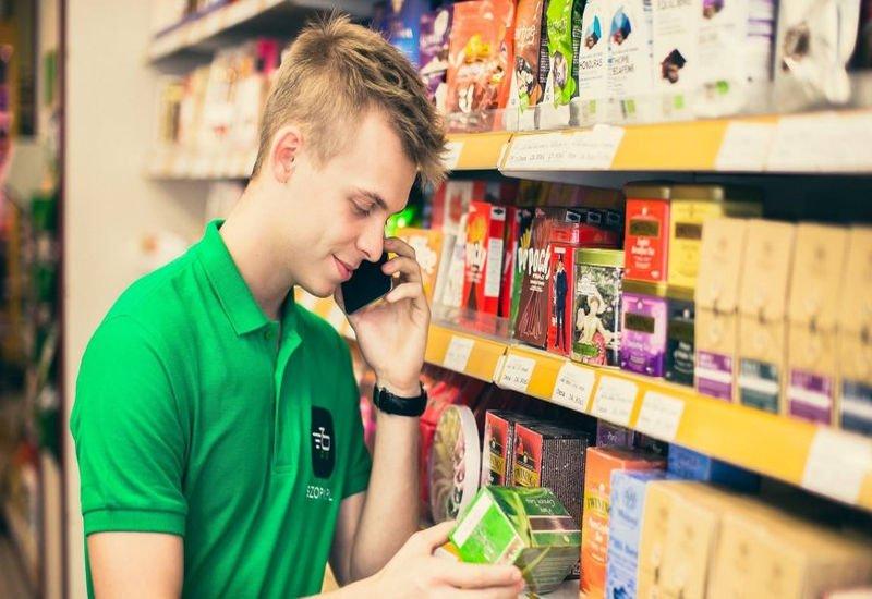 Szopi - zakupy spożywcze przez Internet.