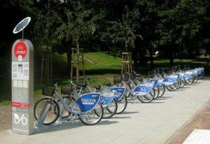 BLIKIEM doładujesz konto Veturilo na stacjach rowerowych.