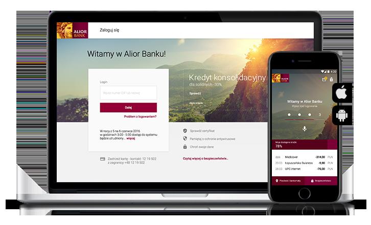 Nowa odsłona bankowości internetowej i mobilnej Alior Banku.
