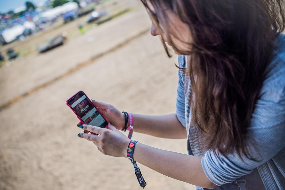 Aplikacja Przystanek Woodstock. Źródło - woodstockfestival.pl.