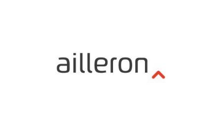 Ailleron logo.