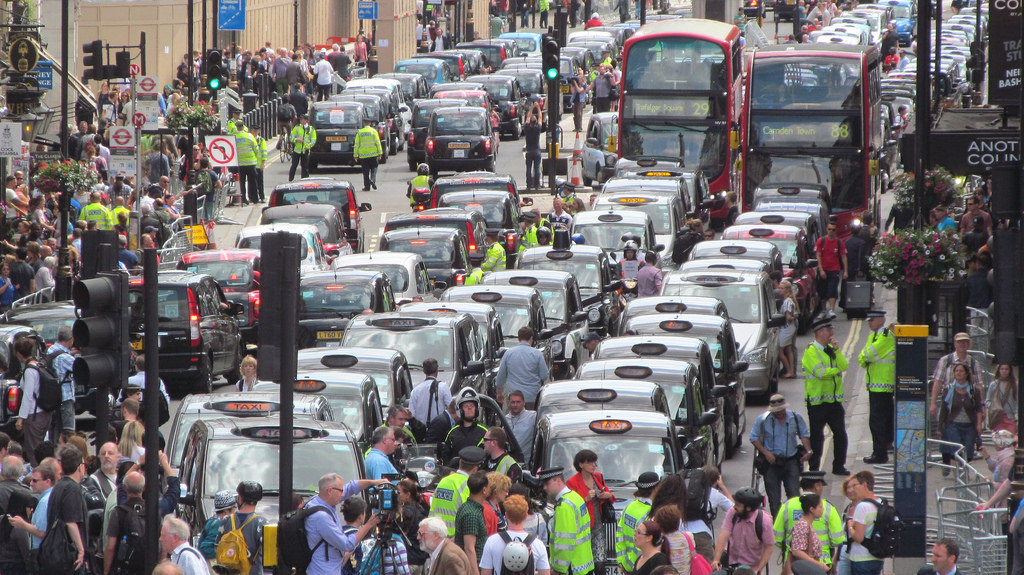 Jak Uber podbił Londyn?