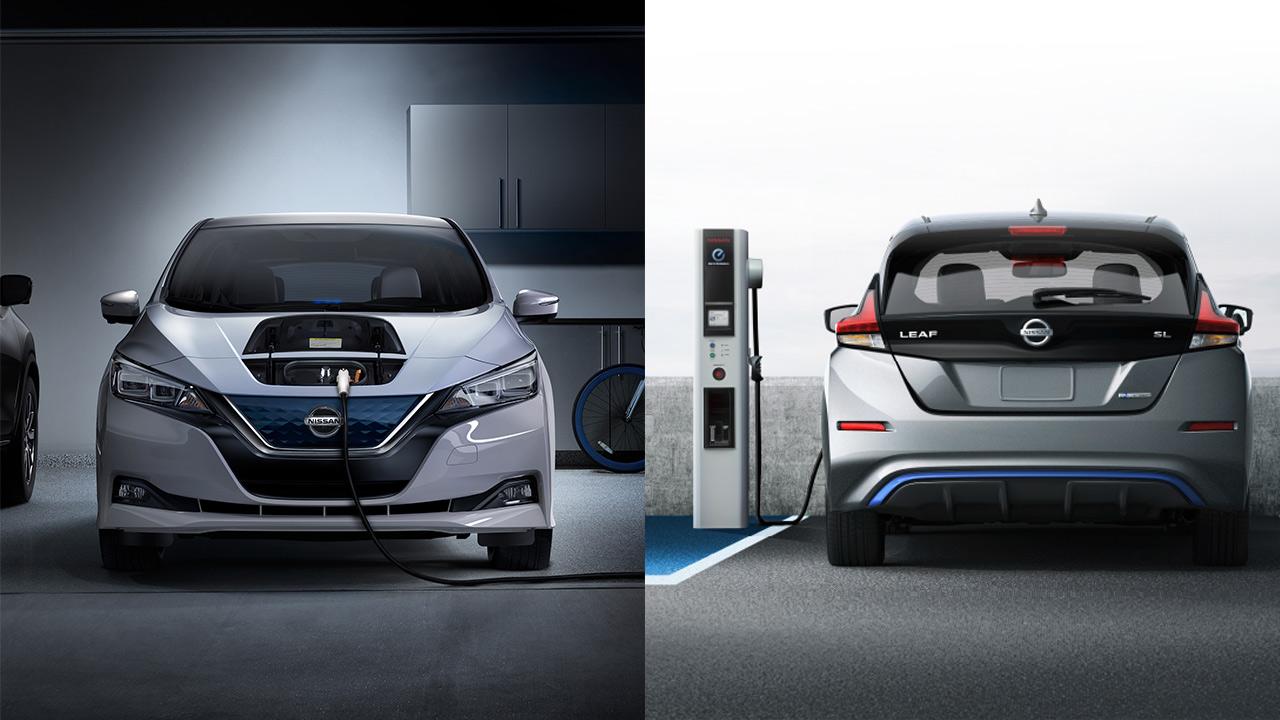 Ładowanie nowego Nissana Leaf