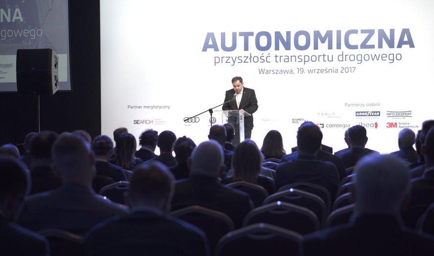 Autonomiczna przyszłość transportu drogowego 2