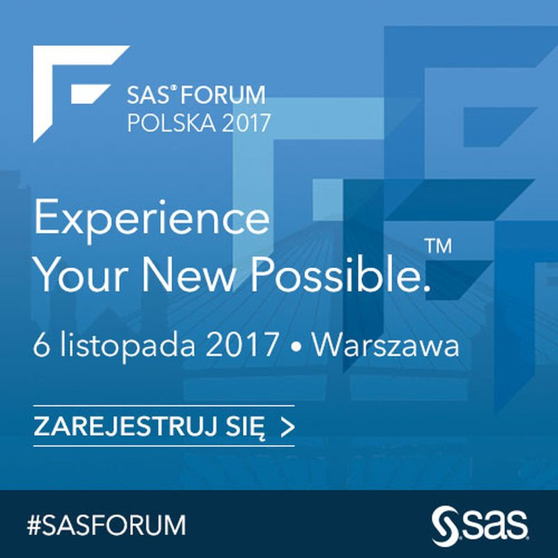 Grafika SAS Forum Polska 2017