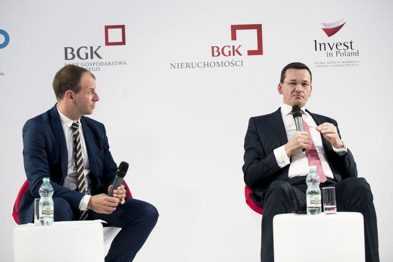 Minister Morawiecki w Krynicy