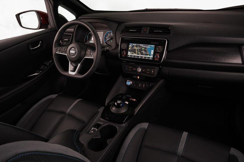 Wnętrze Nissana Leaf