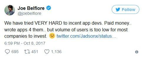 Joe Belfiore przyznaje - to koniec Windows Phone 10 Mobile.