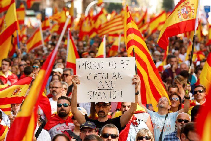 Katalonia i kryptowaluty - tonący brzytwy się chwyta? - źródło: abc.net.au