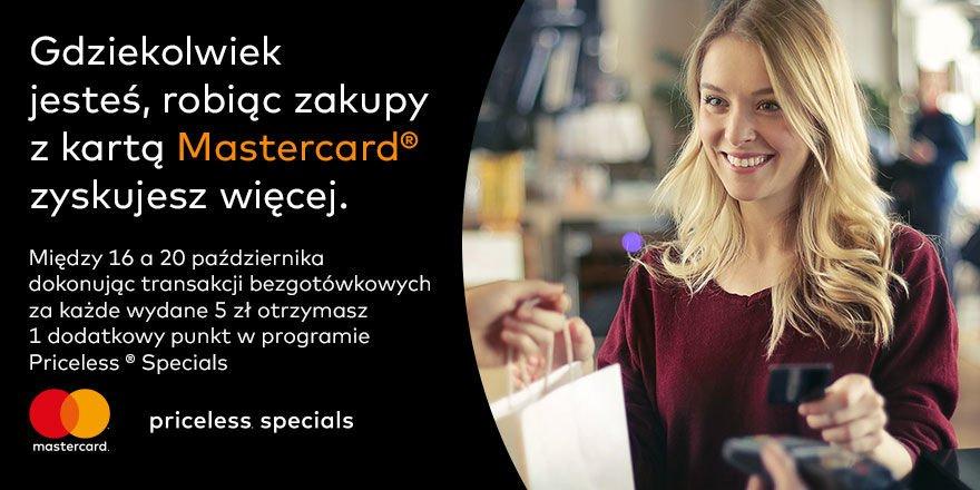 Nowe promocje dla posiadaczy kart Mastercard.