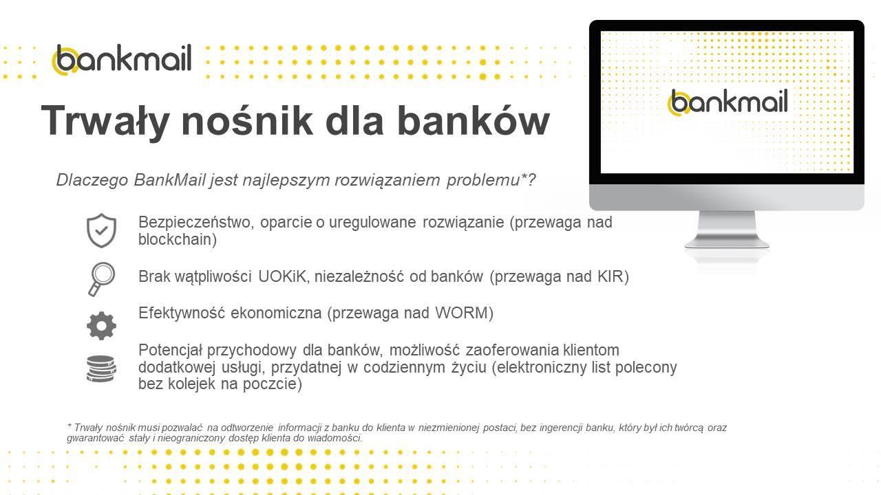 BankMail trwały nośnik dla banków