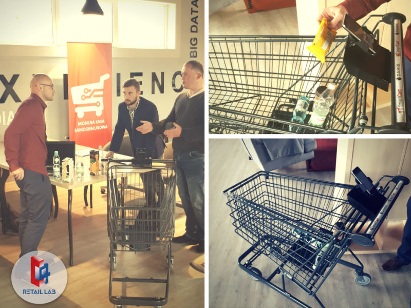 Inteligentny wózek w Carrefourze. Właśnie tak może wyglądać przyszłość zakupów