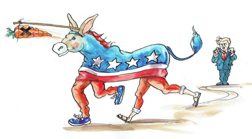 5. Amerykańscy wyborcy stawiają na lewicę w wyborach w 2018 roku